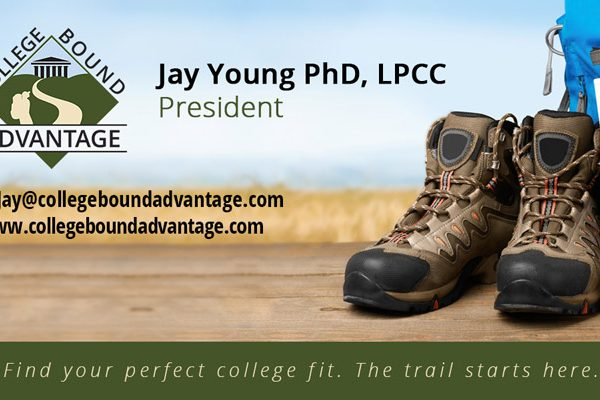 College Bound Advantage Business Card Design