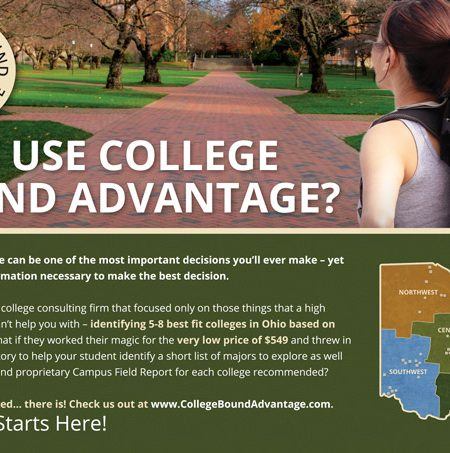 College Bound Advantage Print Marketing