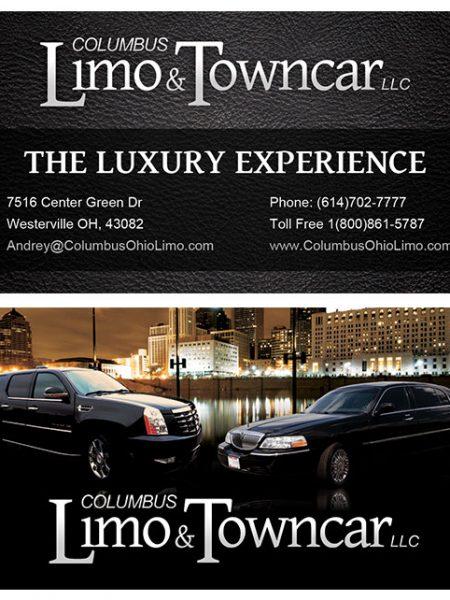 Columbus Limo and Towncar LLC Business Card