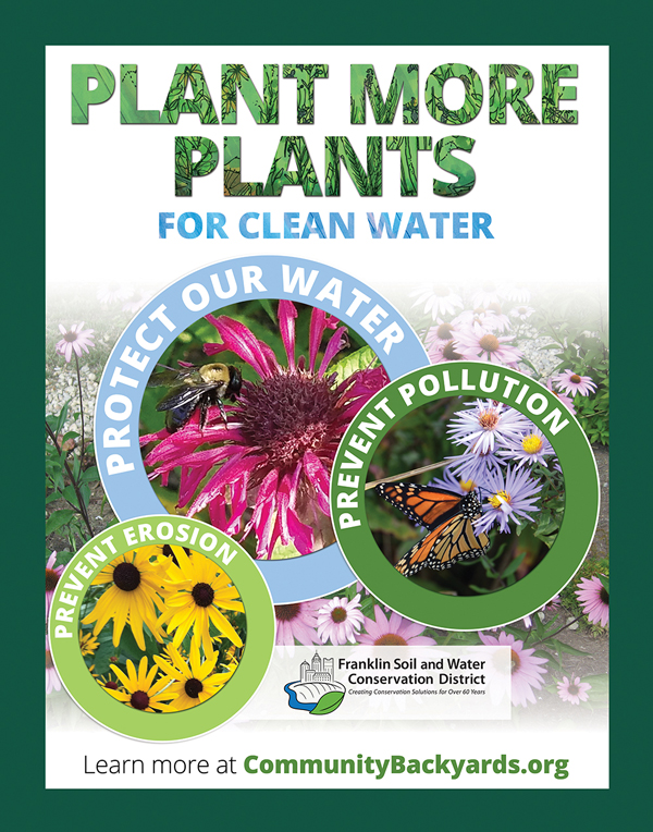 FSWCD plant more plants sign
