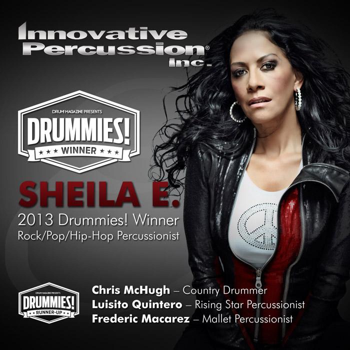 Innovative Percussion Drum Ad