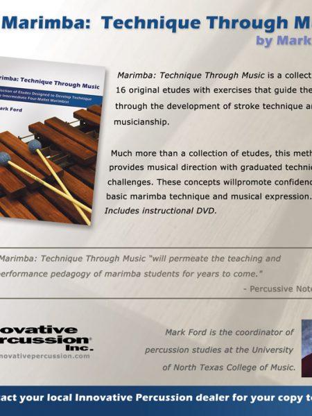 Innovative Percussion Square Ad