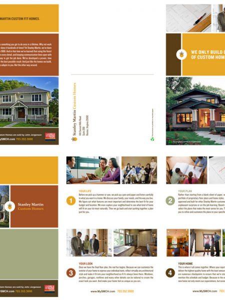 John Jorgenson Stanley Martin Custom Homes Mailer Brochure