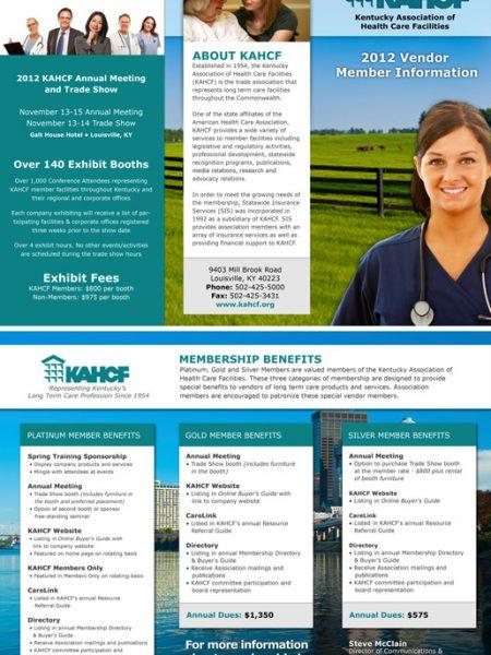 KAHCF Buyers Guide Brochure Design