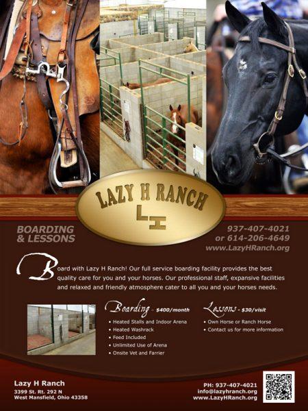Lazy H Ranch Flyer Design