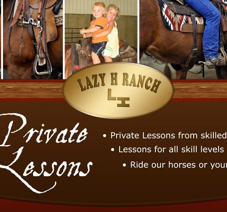 Lazy H Ranch Sign Design