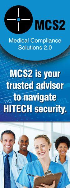 MCS2 Tradeshow Standee