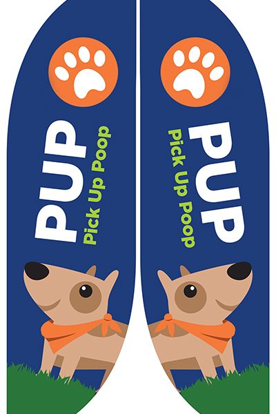 pup flag design franklin soil and water