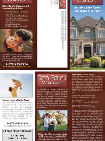Red Brick Mortgage brochure