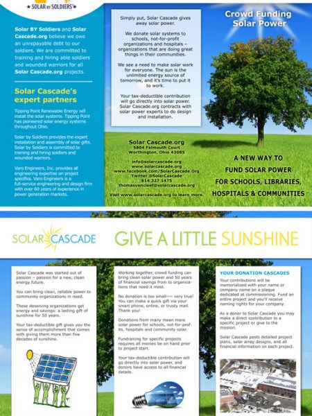 Solar Cascade Brochure