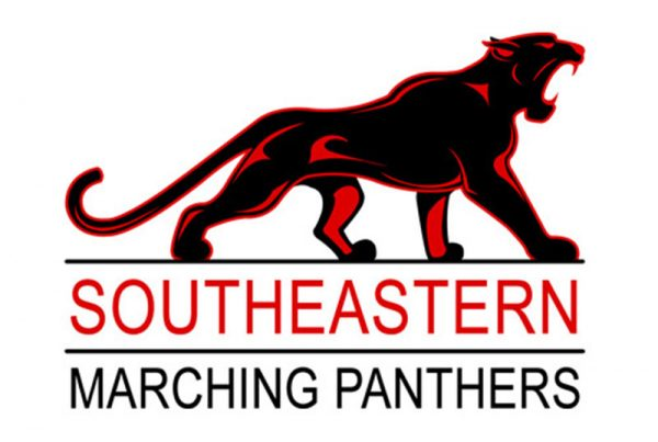 Southeastern Marching Panthers Logo