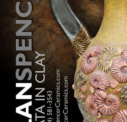 Spencer Ceramics Business Card Design