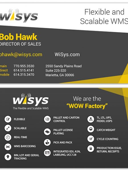 WiSys Business Card Design