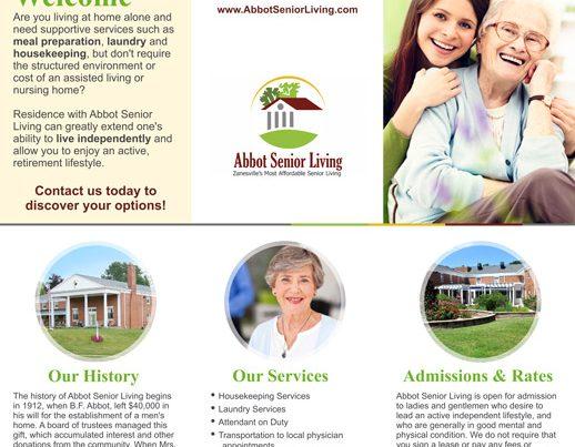 Abbot Senior Living Brochure