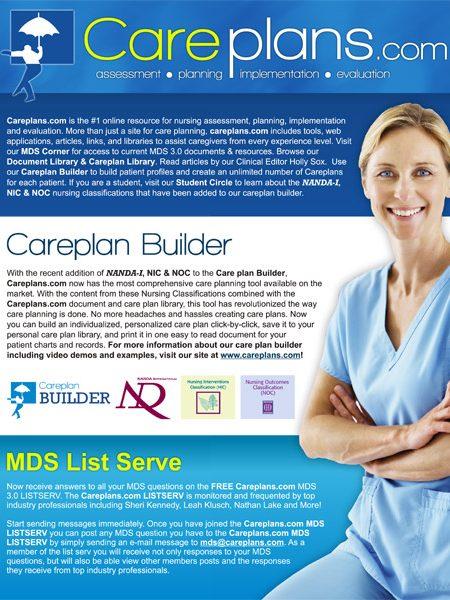 Careplans.com Handout Flyer