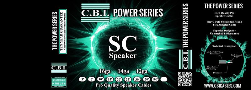 cbi sc speaker cable packaging design