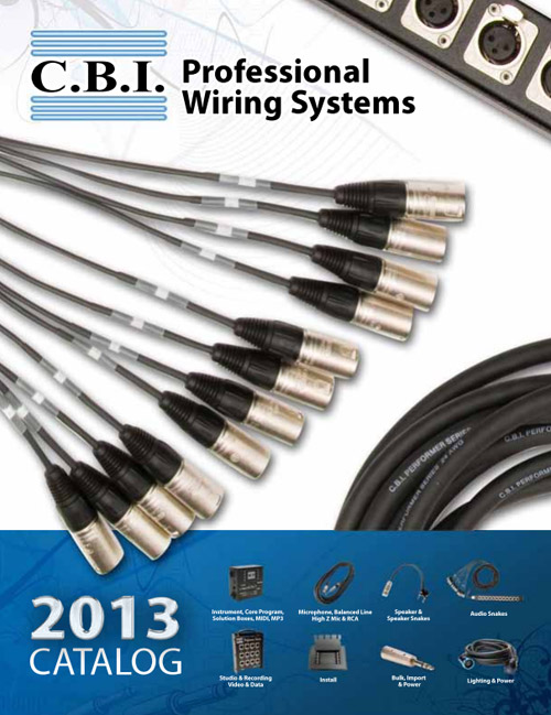 C.B.I. Professional Wiring Systems Catalog Cover