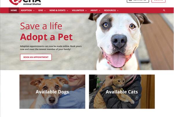 Columbus CHA Animal Shelter Design and Build