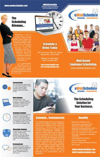 EWebSchedule Brochure Handout