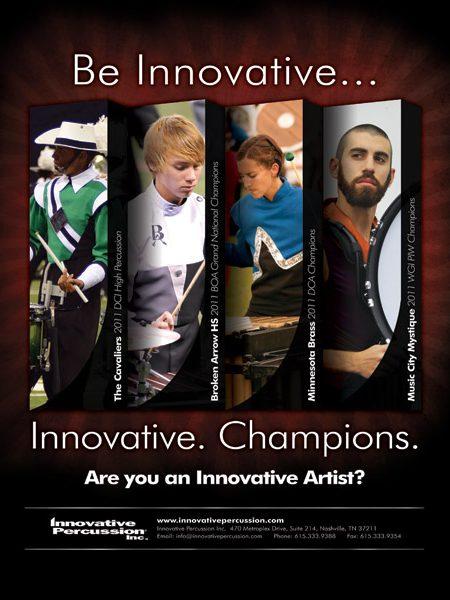 Innovative Percussion Magazine Ad