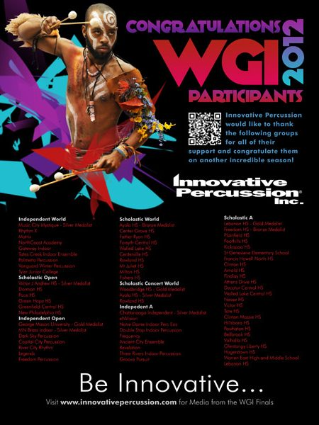 Innovative Percussion Magazine Ad 2