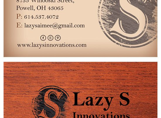 Lazy S Business Card