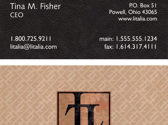 L'Italia Business Card