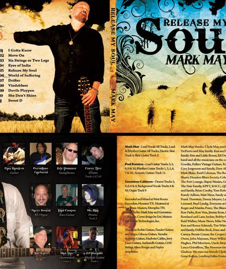 Mark May CD Cover & Liner Design