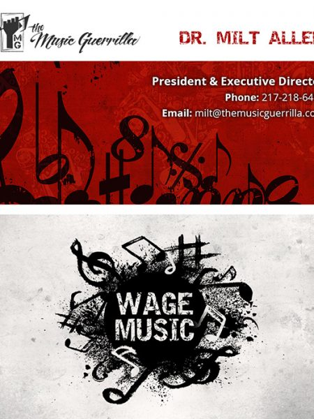 The Music Guerrilla Business Card