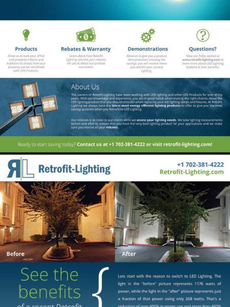 Retrofit Lighting Flyer