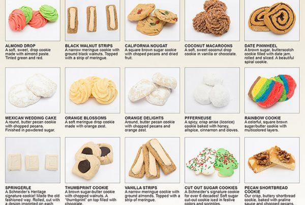 Schneider's Bakery Cookie Flyer