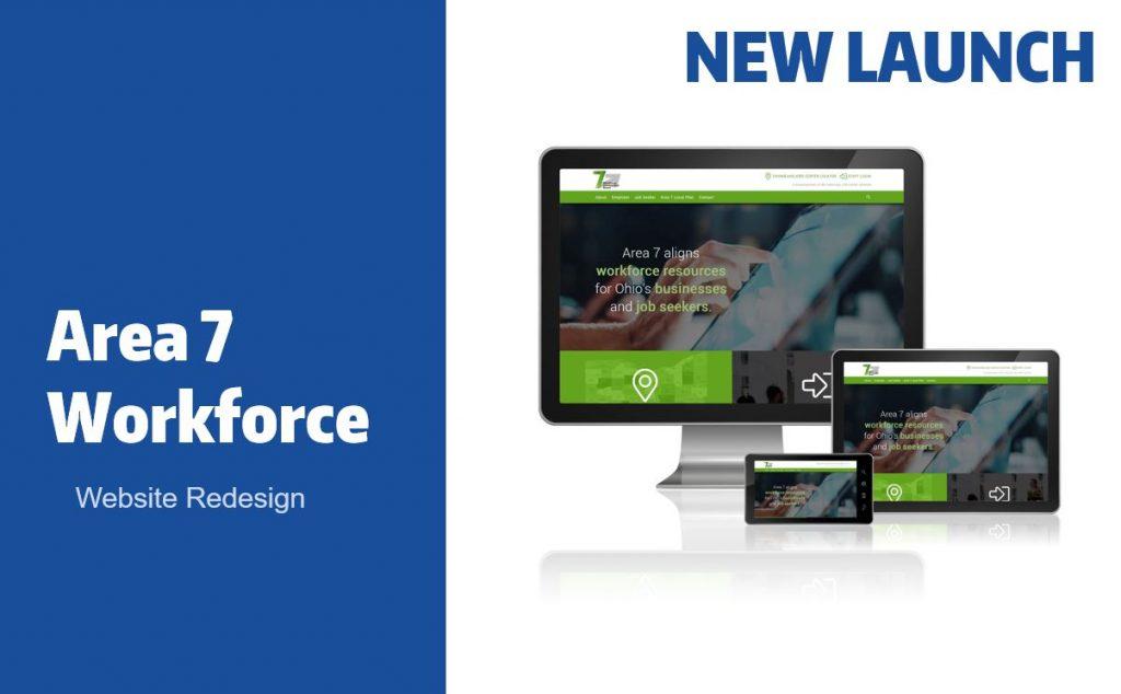 Area 7 Workforce Website Redesign