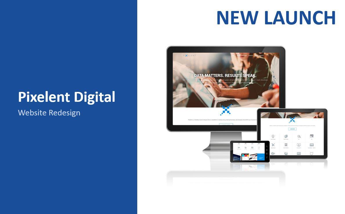 Pixelent Website Launch