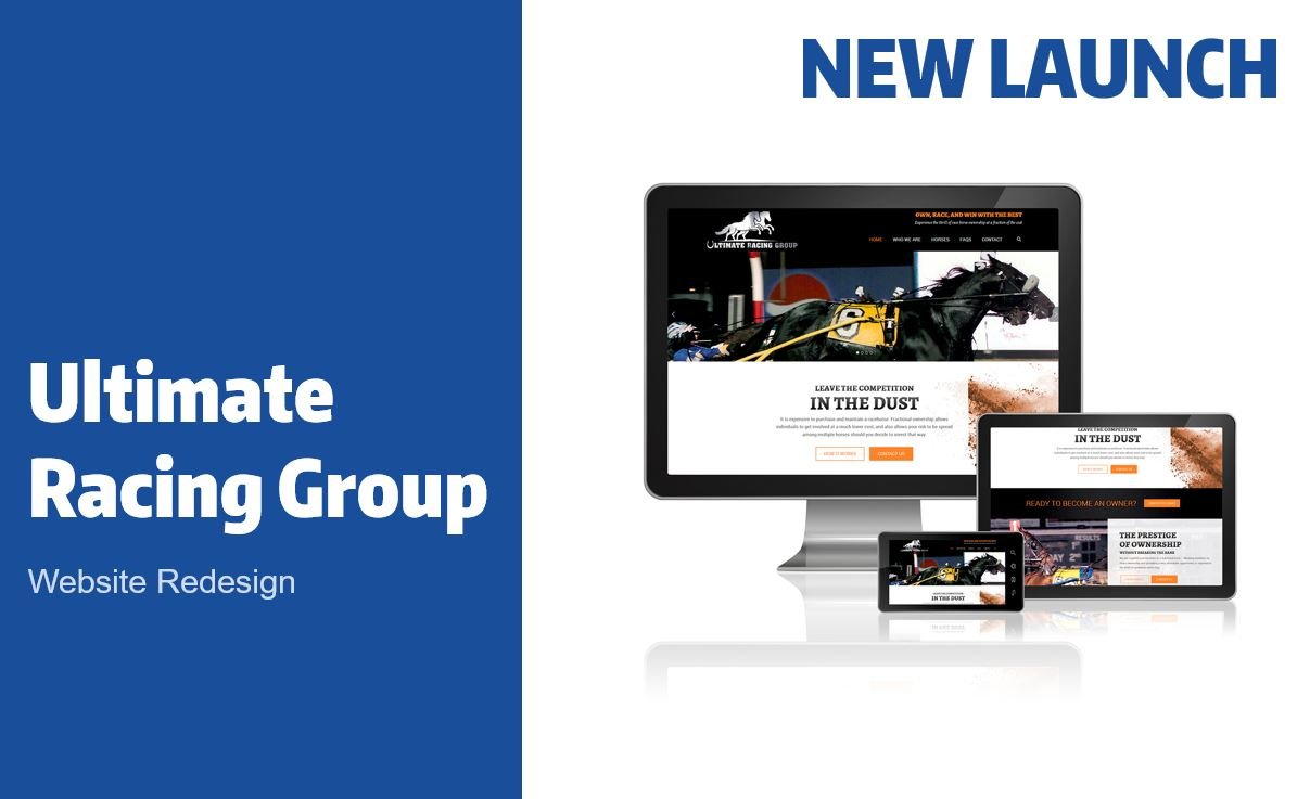 Ultimate Racing Group Website Redesign