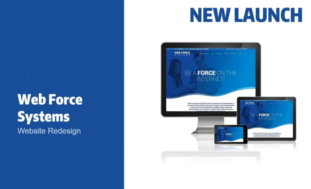 Web Force Systems Website launch