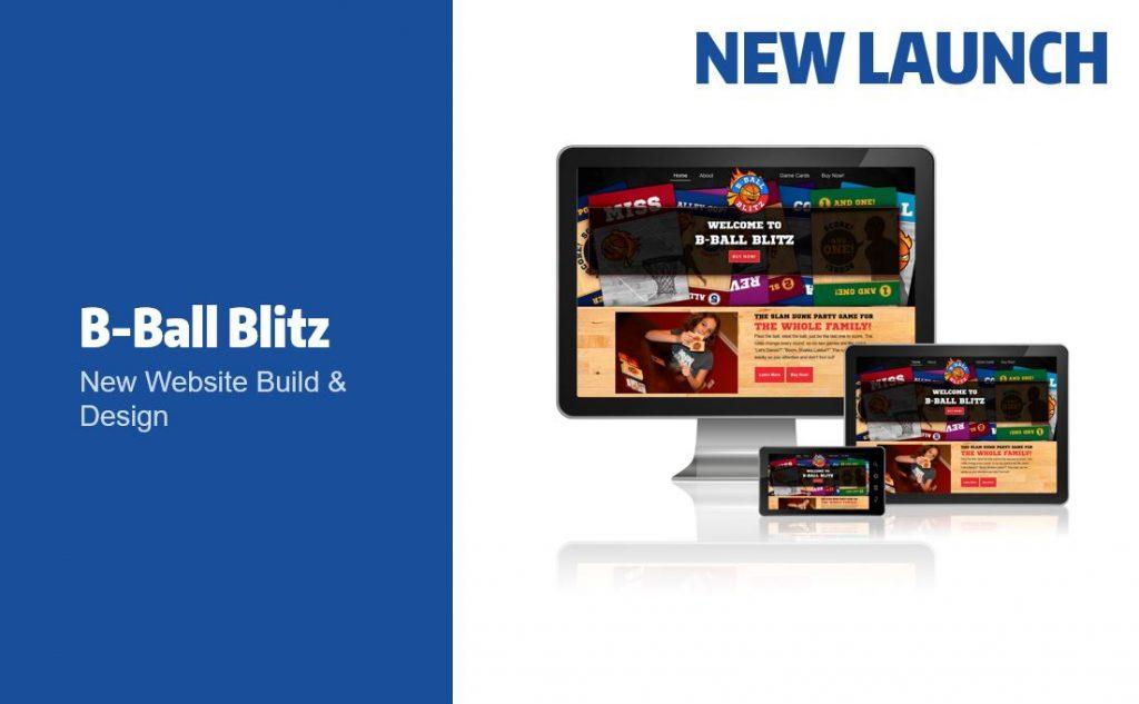 B-Ball Blitz Website Launch