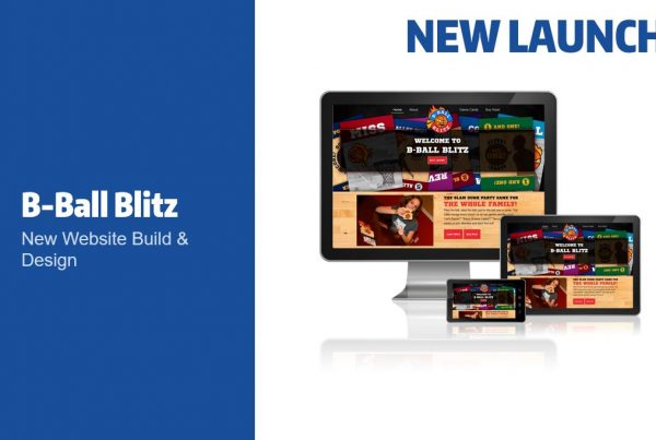 B-Ball Blitz Website Launch
