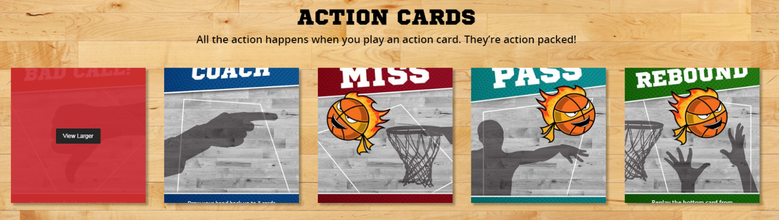 bball blitz action cards