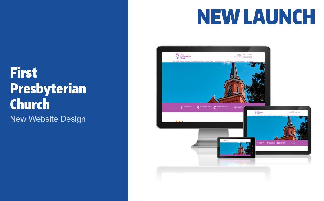 First Presbyterian Church Website Launch