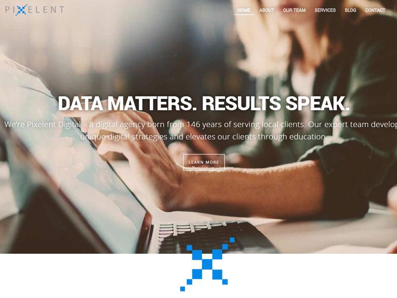 Pixelent Website Design