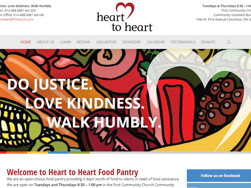 Heart to Heart Food Pantry