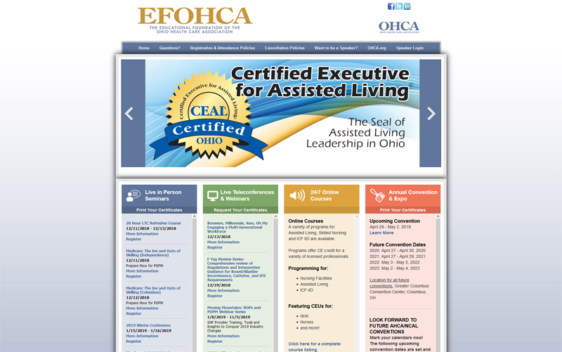Educational Foundation of Ohio Healthcare Association
