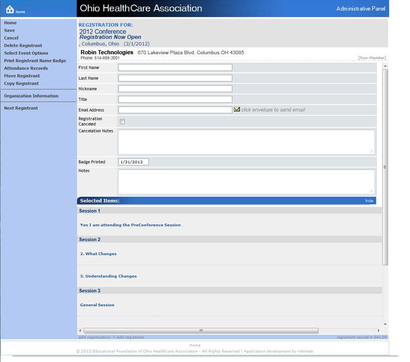 Event Management & Registration Registration Manager Registration Manager