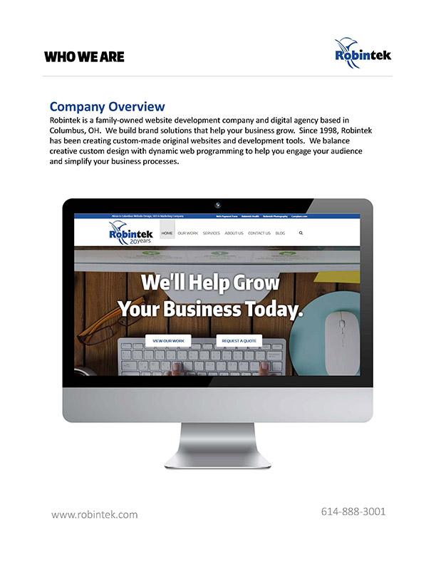 About Robintek - Akron & Columbus Website Design Company