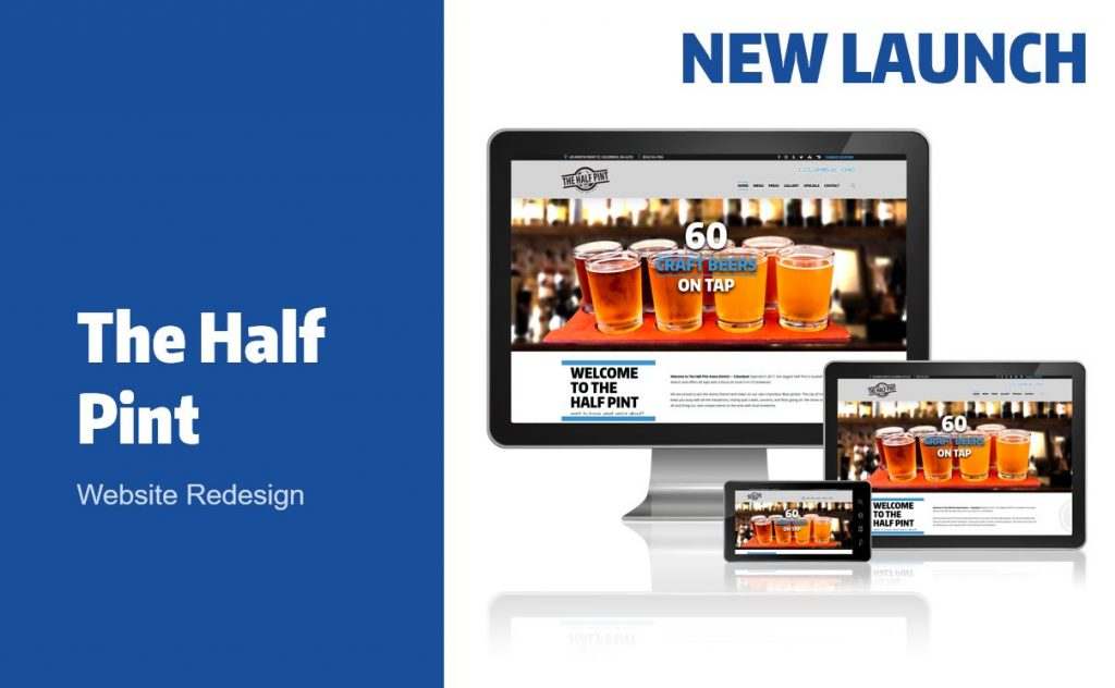 The Half Pint Website Launch