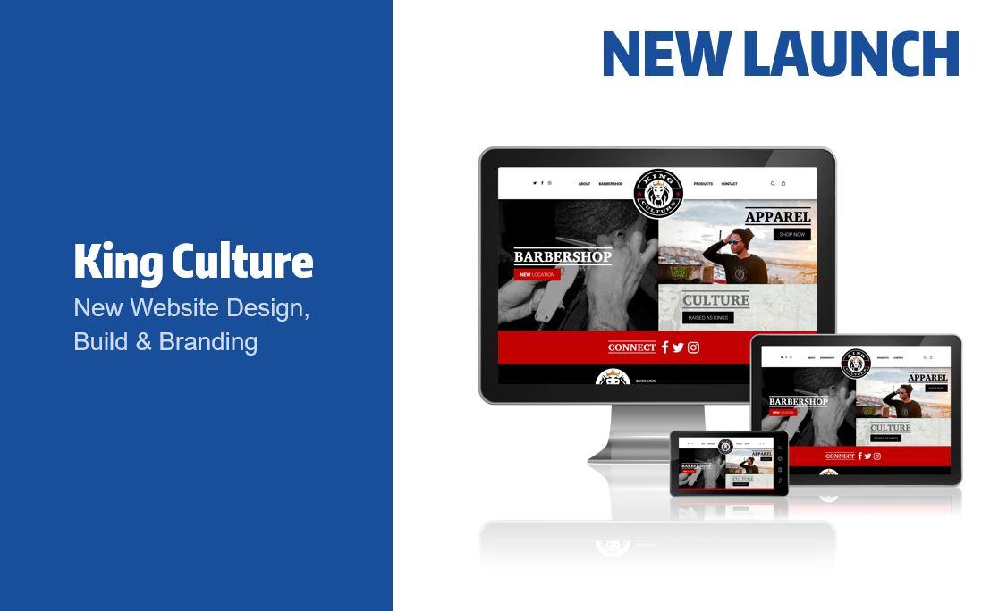 King Culture Website Launch