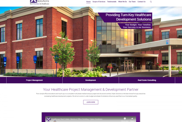 Hplex Website Redesign Wordpress