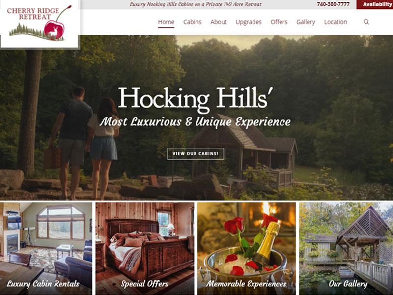 Cherry Ridge Website Design and Build