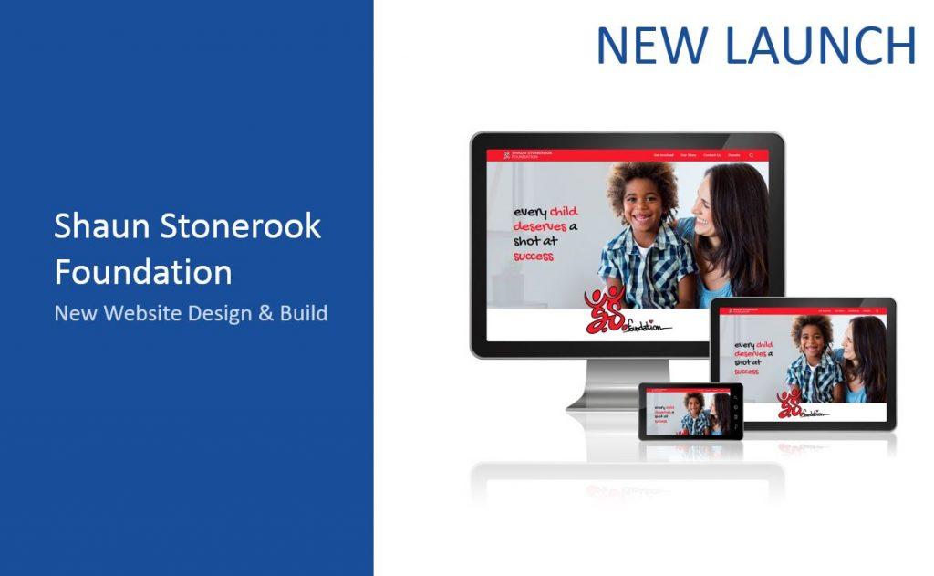 Shaun Stonerook Foundation website design
