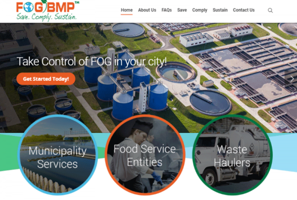 Fog BMP Industrial Business Website Design